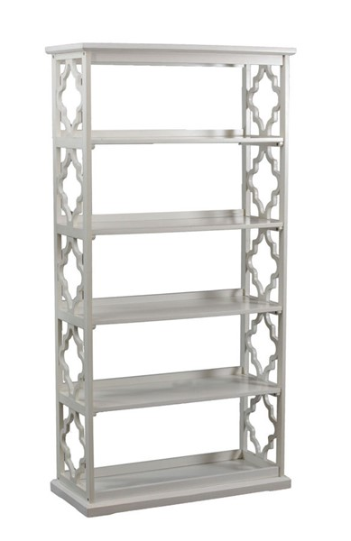 Powell Furniture Turner White Bookcase PWL-14A8082BCW