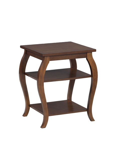 Panorama Contemporary Hazelnut MDF Solid Wood Accent Table PWL-14A8092