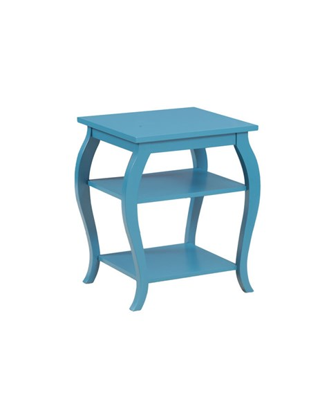 Contemporary Teal MDF Solid Wood Panorama Table PWL-14A8093