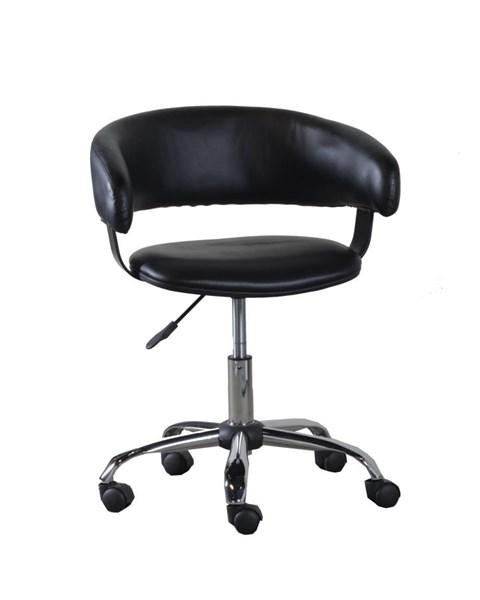 Powell Furniture Home Office Black White Gas Lift Desk Chairs PWL-14B2010-VAR