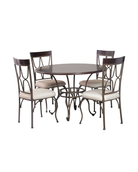 Powell Furniture Coleman Round 5pc Dining Room Set