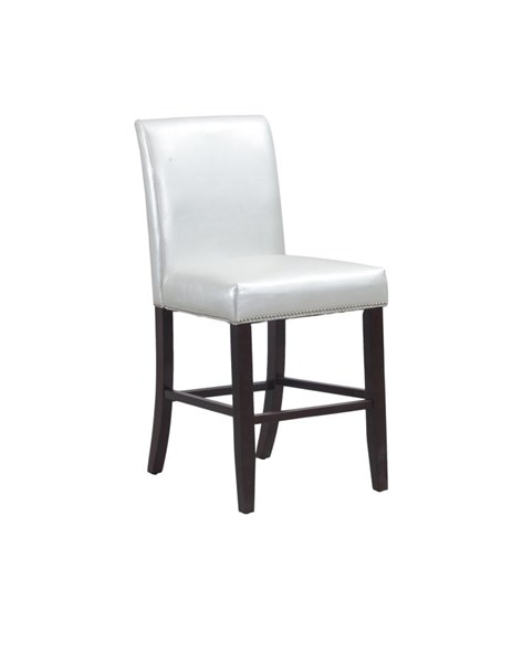 Opal Bonded Leather Wood Armless & Solid Back Counter Stool PWL-14D2032CO