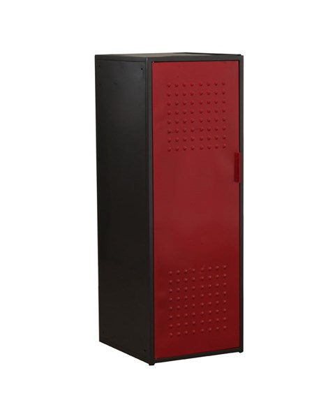 Youth Red Gunmetal Black Metal Garage Cabinet PWL-14Y2003CA