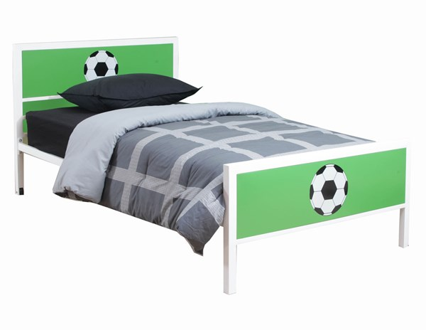 Powell Furniture Green Goal Keeper Twin Bed PWL-14Y2015TB