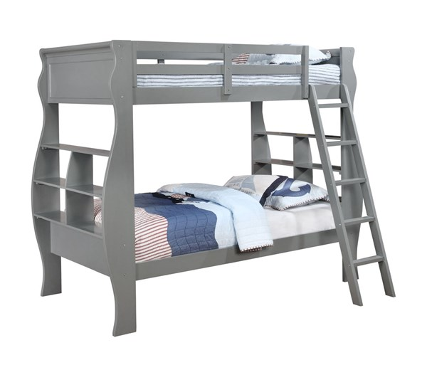Casey Pinewood Plywood Particle Board Bunk Beds PWL-14Y8100-BNK-BED-VAR
