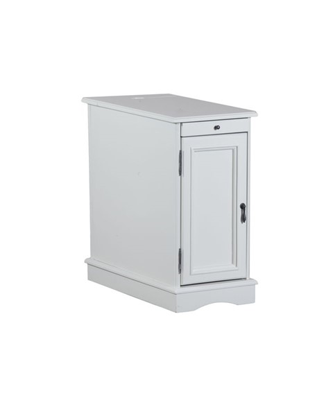 Powell Furniture Butler White Accent Table PWL-15A2017W