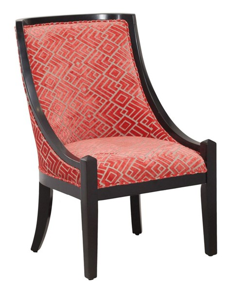 Powell Furniture Aria Black Accent Chair PWL-15S8180