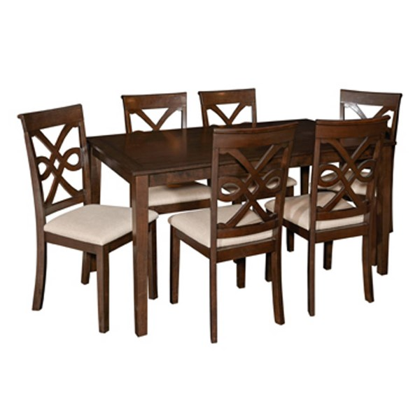 Powell Furniture Kennadi Espresso 7pc Dining Set PWL-16D2011