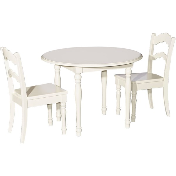 Powell Furniture Youth Vanilla Kids Table and Chair Set PWL-16Y1004