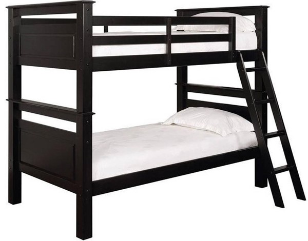 Powell Furniture Dixon Black Bunk Bed PWL-16Y2006B