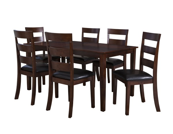 Powell Furniture Linville Cherry 7pc Dining Room Set PWL-182-730A