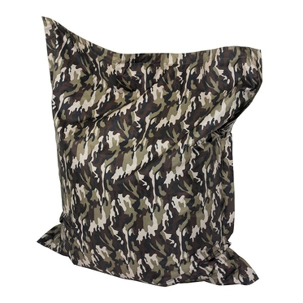 Polyester Chrome Plated Steel Camo Bean Bag PWL-199-B017