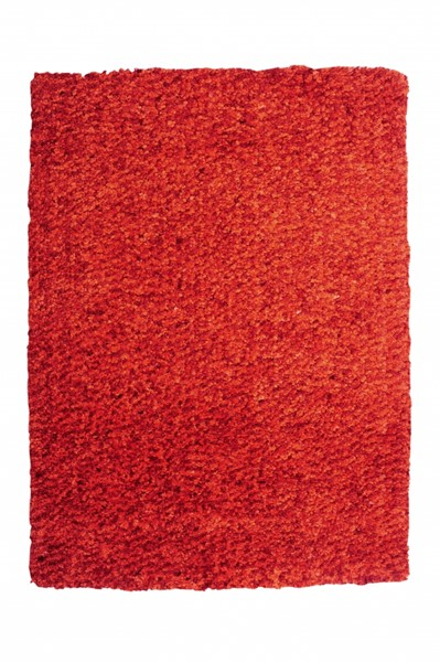 Bombay Collection Polyester Luxe Shag Burnt Orange Rug PWL-200-R0064-8