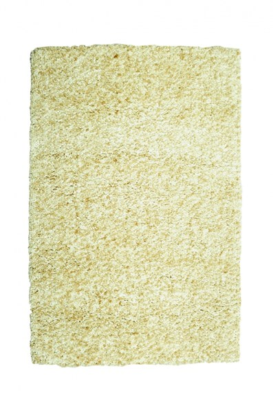 Bombay Collection Polyester Luxe Shag Sand Rectangle Rug PWL-200-R0065-2