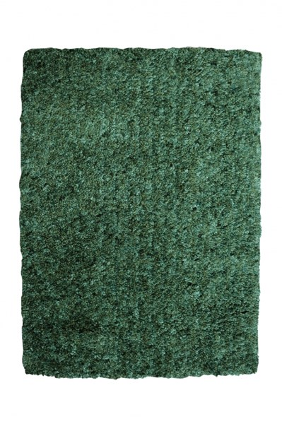 Bombay Collection Polyester Luxe Shag Aquamarine Rectangle Rug PWL-200-R0069-2