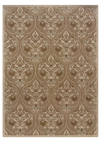 Bombay Collection Polyester Chenille Tapis Sage Rug (L 84 X W 60) PWL-200-R0072-5