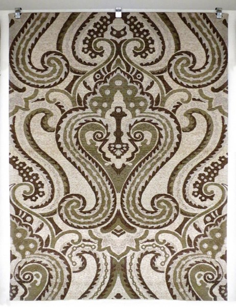 Bombay Collection Polyester Tapis Camb Lyre Ivory Rug (L 36 X W 24) PWL-200-R0076-1