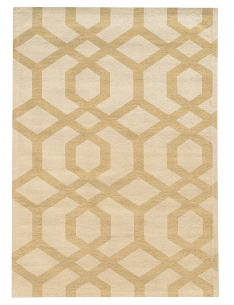 Bombay Collection Polyester Tapis Chain Grey Rug (L 84 x W 60) PWL-200-R0087-5