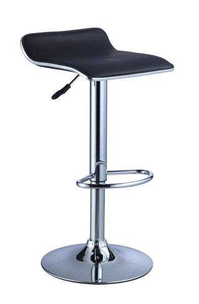 2 Powell Furniture Black Bar Stools PWL-212-847X