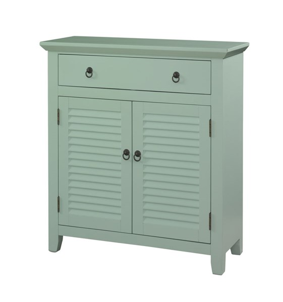 Accent MDF 1 Drawer & 2 Doors Shutter Table PWL-23-VAR