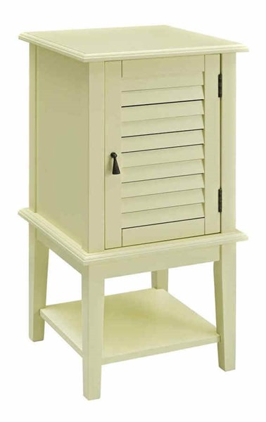 Buttercup Yellow MDF Solid Wood Shutter Door Square Table PWL-256-351