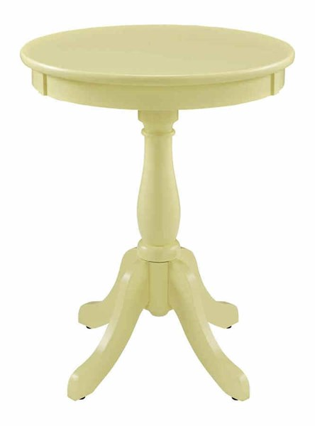 Powell Furniture Yellow Round Table PWL-256-352