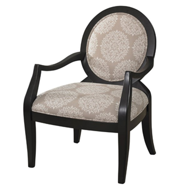 Classic Seating Pearl Black Frame Accent Chair PWL-271-607