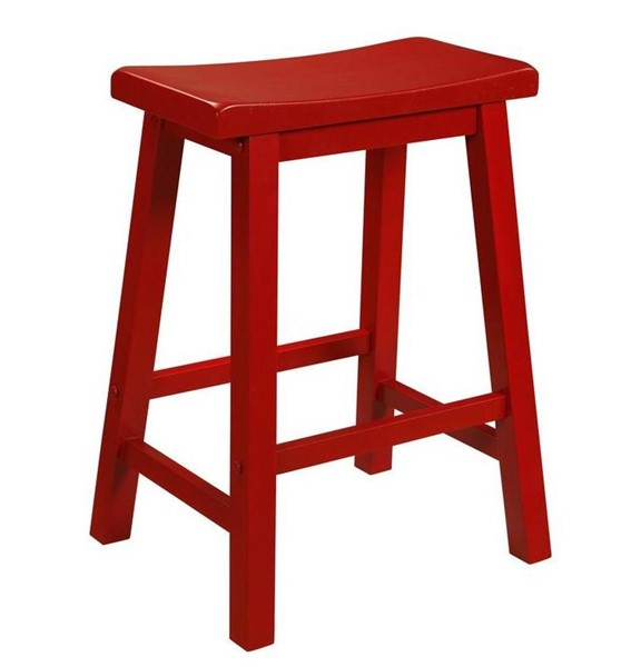 Powell Furniture Crimson Red Counter Stool PWL-286-430