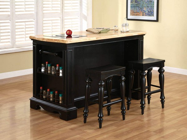 Powell Furniture Pennfield 3pc Counter Height Bar Set PWL-318-416M1