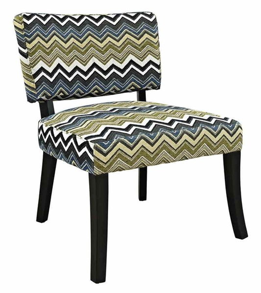 Classic Seating Contemporary Black Hardwood Fabric Armless Chair PWL-383-494