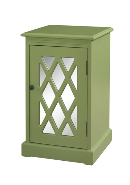 Accent MDF Olive Mirror Chippendale Table PWL-405-351