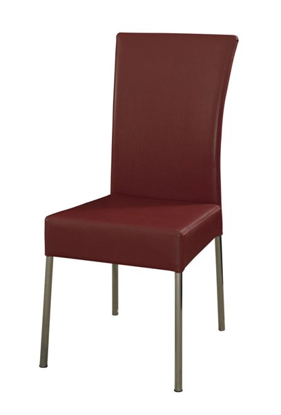 2 Powell Furniture Cameo Red Dining Chairs PWL-433-285X