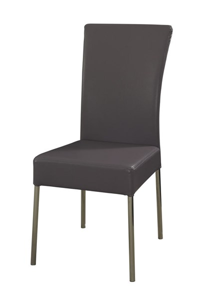 2 Powell Cafe Metal Fire Foam Cameo Heather Purple Dining Chairs PWL-433-494X
