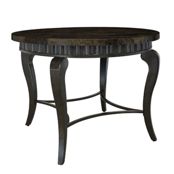 Wayland Faux Marble Wood Round Dining Table PWL-567-413
