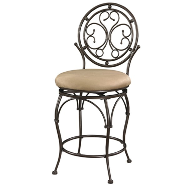 Powell Furniture Bronze Big and Tall Counter Stool PWL-586-726