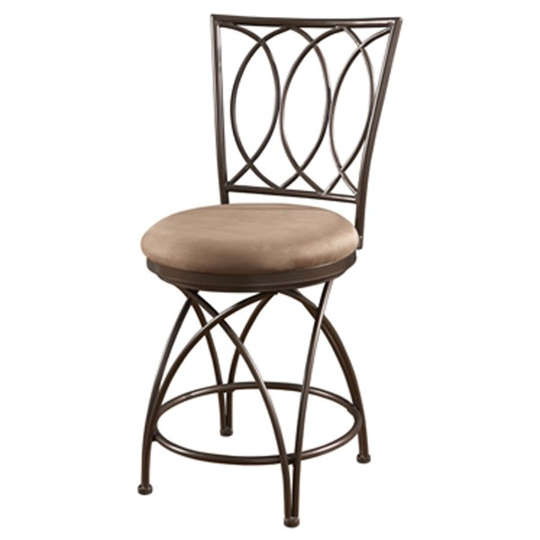 Powell Furniture Big and Tall Cross Back Counter Stool PWL-586-918
