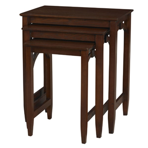 Knox Traditional Wood Rectangle 3pc Nested Tables PWL-698-266