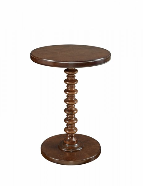 Classic Kraven MDF Solid Wood Post Round Spindle Table PWL-713-269