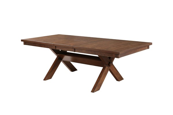 Kraven Dark Hazelnut Acacia Rubberwood Dining Table - Part 2 PWL-713-4172