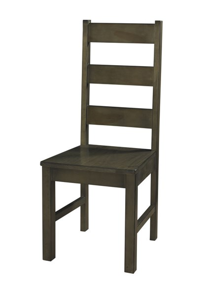 2 Casual Rustic Smoke Pine Wood Autumn Falls Dining Chairs PWL-846-436X