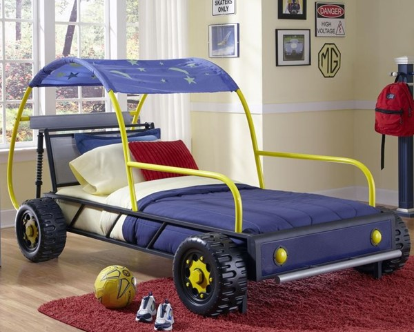 Powell Furniture Dune Buggy Car Twin Bed PWL-904-038