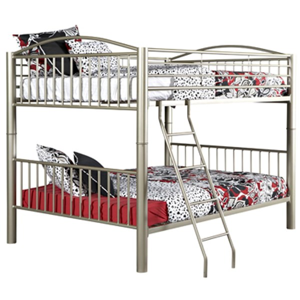 Powell Furniture Youth Pewter Full Over Full Bunk Bed PWL-941-137