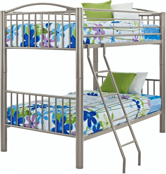 Powell Furniture Youth Pewter Twin Over Twin Bunk Bed PWL-941-138