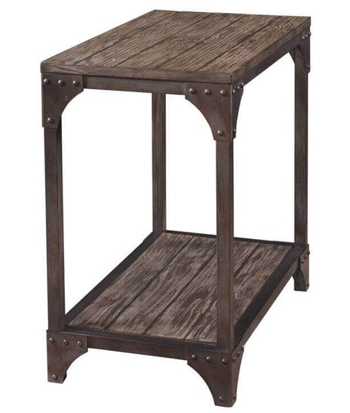 Powell Furniture Benjamin Neutral Chairside Table PWL-958-892