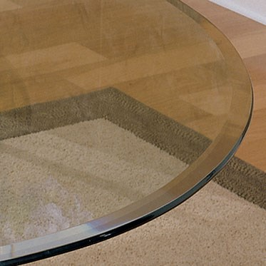 Basil 48 Inches Diameter Round Glass Table Top PWL-GC2