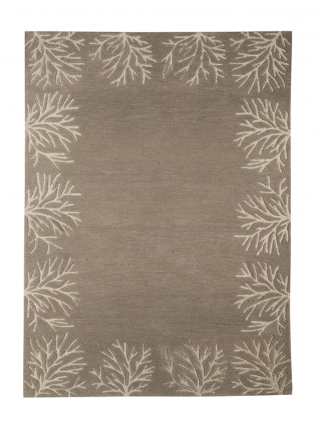 Kierin Transitional Brown Fabric Hand Tufted Large Rug R400321