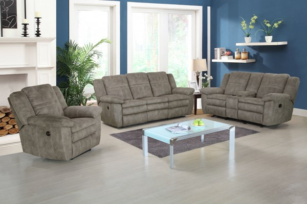 Bronson Sultry Pecan Padded Arm Seat & Back 3pc Power Living Room Set  RH-1194-003-LR-S2