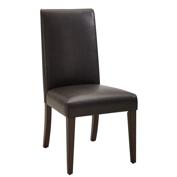 HMidea Laced Brown Laced Back Parsons Dining Chair RH-156-C063-700-1