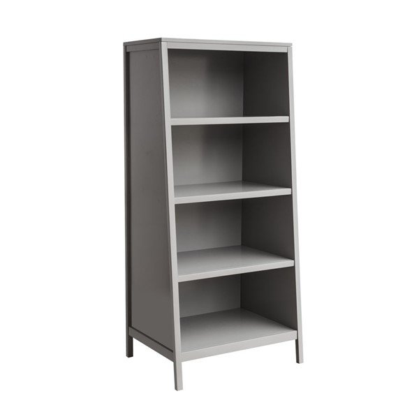 HMidea Gray Transitional Youth Bookcase RH-156-C155-802A