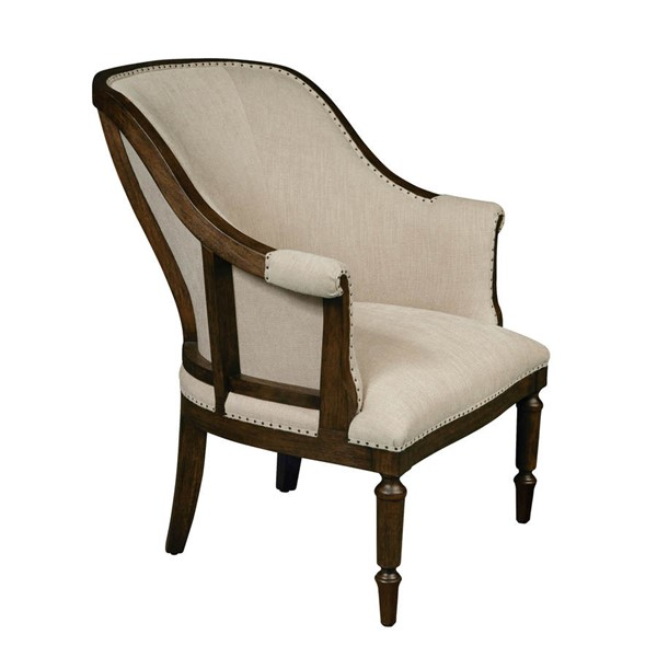 Home Meridian Club Projects Cream Fabric Chair RH-156DS-D153-783-474